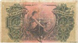4 Tangas INDE PORTUGAISE  1917 P.019 TB+