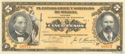 5 Pesos MEXIQUE  1915 PS.1044a NEUF