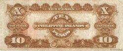 10 Pesos PHILIPPINES  1929 P.076 TB