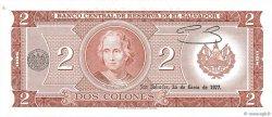2 Colones SALVADOR  1977 P.124a pr.NEUF