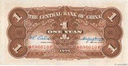 1 Yüan CHINE  1936 P.0210 NEUF