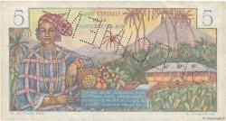 5 Francs Bougainville AFRIQUE ÉQUATORIALE FRANÇAISE  1946 P.20Bs TTB
