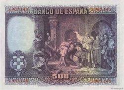 500 Pesetas ESPAGNE  1928 P.077a pr.SPL