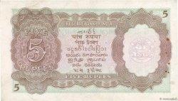 5 Rupees BIRMANIE  1945 P.26a TTB