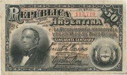 50 Centavos ARGENTINE  1891 P.212 pr.TB