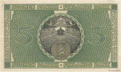 5 Markkaa FINLANDE  1918 P.036 TTB