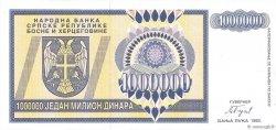 1000000 Dinara BOSNIA HERZEGOVINA  1993 P.142a UNC