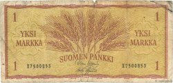 1 Markka FINLANDE  1963 P.098a B