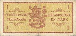 1 Markka FINLANDE  1963 P.098a TB
