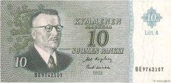 10 Markkaa FINLANDE  1963 P.104a TTB+