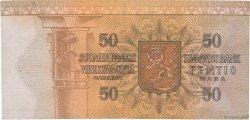 50 Markkaa FINLANDE  1977 P.108a TB