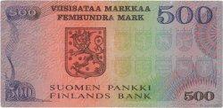 500 Markkaa FINLANDE  1975 P.110a pr.TTB