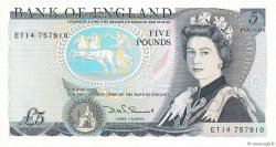 5 Pounds  ANGLETERRE  1980 P.378c SUP+