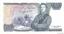 5 Pounds  ENGLAND  1980 P.378c VF