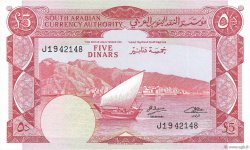 5 Dinars  YEMEN DEMOCRATIC REPUBLIC  1965 P.04b