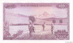 100 Shillings KENYA  1972 P.10c pr.NEUF