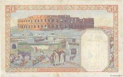 50 Francs ALGÉRIE  1938 P.084 TTB