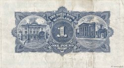 1 Pound ÉCOSSE  1948 P.322b TB+