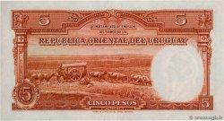 5 Pesos URUGUAY  1935 P.029b pr.SPL