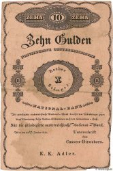 10 Gulden AUTRICHE  1825 P.A062b TTB