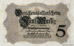 5 Mark  ALLEMAGNE  1914 P.047b SUP