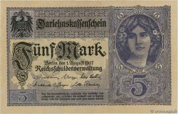 5 Mark ALLEMAGNE  1917 P.056b NEUF