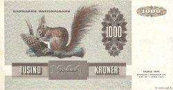 1000 Kroner DANEMARK  1986 P.053e TTB+
