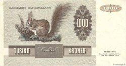 1000 Kroner DANEMARK  1992 P.053g TTB+