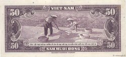 50 Dong  SOUTH VIETNAM  1956 P.007a XF