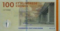 100 Kroner DANEMARK  2013 P.066c NEUF