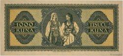 1000 Kuna CROATIE  1943 P.12a pr.NEUF