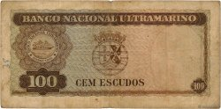 100 Escudos TIMOR  1959 P.24a pr.TB