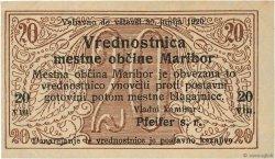 20 Vinarjev SLOVÉNIE Maribor 1919 P.-- SPL
