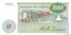 1000 Zaïres ZAÏRE  1985 P.31s pr.NEUF