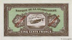 500 Francs GUADELOUPE  1945 P.25s NEUF