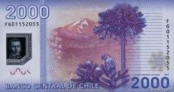 2000 Pesos CHILI  2013 P.162c NEUF