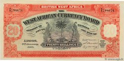 20 Shillings Faux BRITISH WEST AFRICA  1928 P.08ax AU