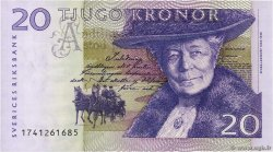 20 Kronor  SUÈDE  2001 P.63a NEUF
