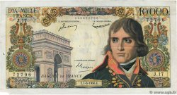 10000 Francs BONAPARTE FRANCE  1956 F.51.03 pr.TTB