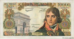 10000 Francs BONAPARTE  FRANCE  1958 F.51.11 TTB