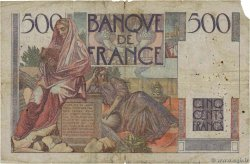 500 Francs CHATEAUBRIAND FRANCE  1945 F.34.01 pr.B