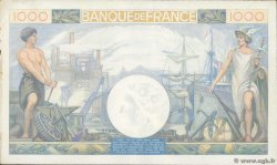 1000 Francs COMMERCE ET INDUSTRIE FRANCE  1940 F.39.01 pr.SUP