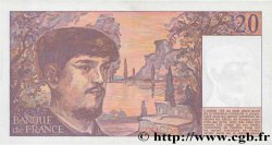 20 Francs DEBUSSY  FRANCE  1985 F.66.06 SUP