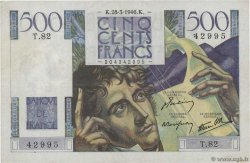500 Francs CHATEAUBRIAND  FRANCE  1946 F.34.05