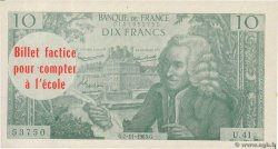10 Francs Voltaire Scolaire FRANCE regionalism and various  1963 F.(62)