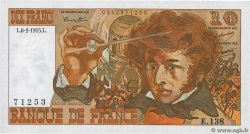 10 Francs BERLIOZ  FRANCE  1975 F.63.08