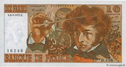10 Francs BERLIOZ  FRANCE  1975 F.63.09
