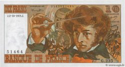 10 Francs BERLIOZ  FRANCE  1975 F.63.13