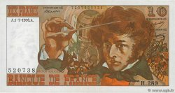 10 Francs BERLIOZ  FRANCE  1976 F.63.19