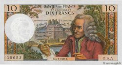 10 Francs VOLTAIRE  FRANCE  1968 F.62.33